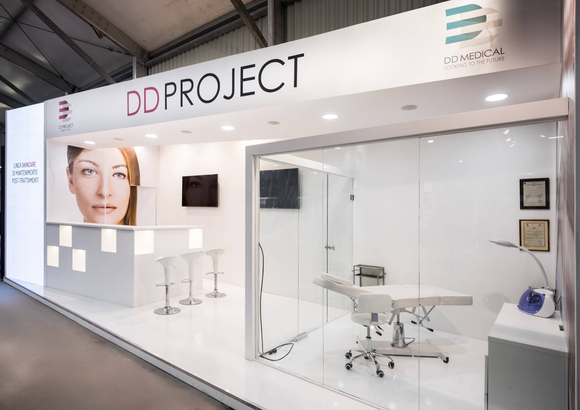 stand fiera allestimenti cosmoprof ddproject