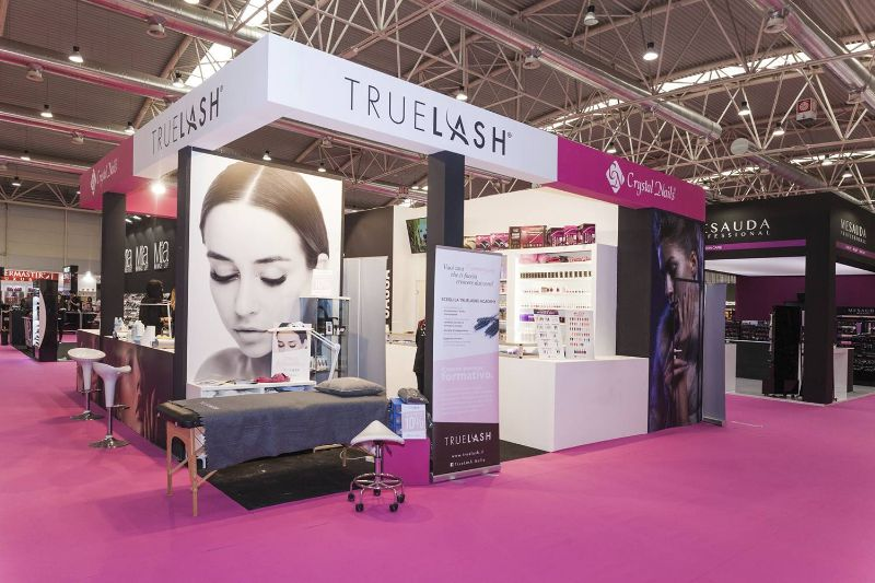 stand fiera per roma international estetica crystal nails